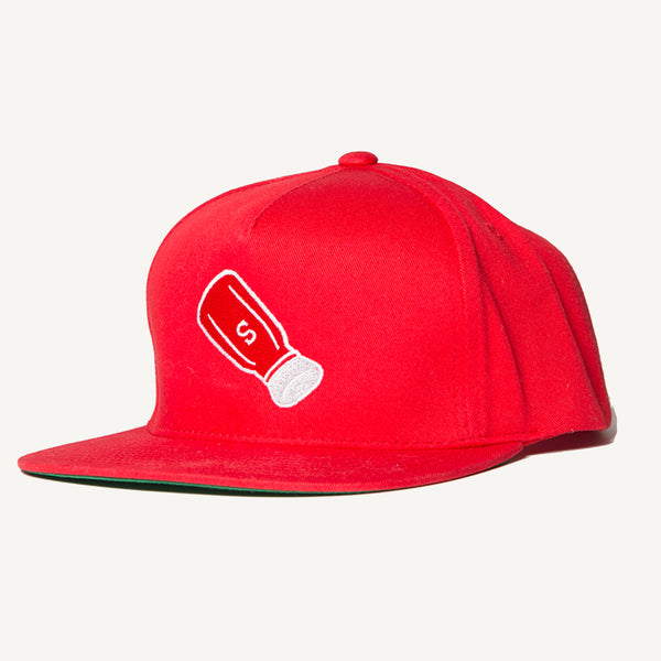 Shaker Snapback Hat In Red - Salty Dames