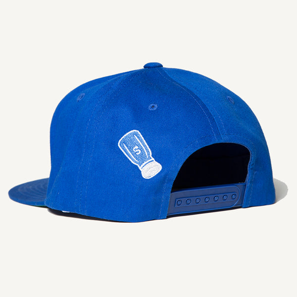 SALTY Snapback In Royal Blue - Salty Dames