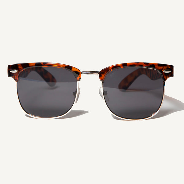 Metal Tortoise Sunglasses - Salty Dames