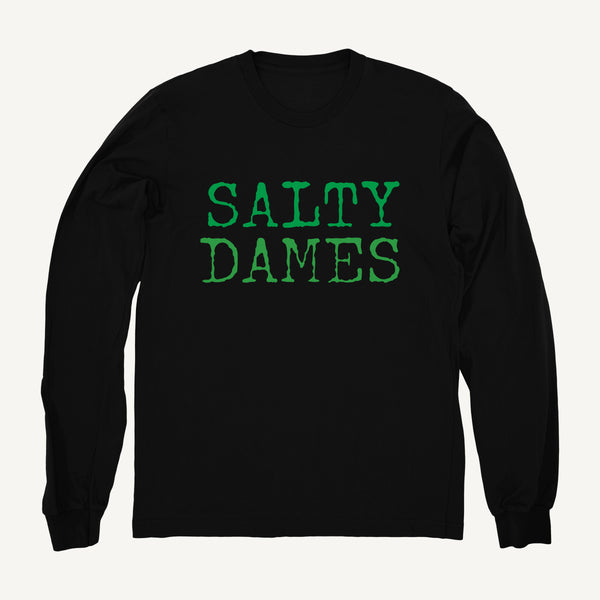 Salty Dames Crew Neck Sweatshirt In Black - Salty Dames