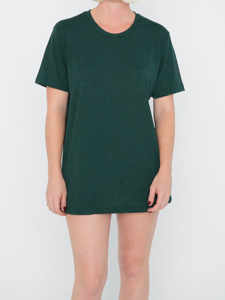 Emerald Green Triblend Tee - Salty Dames