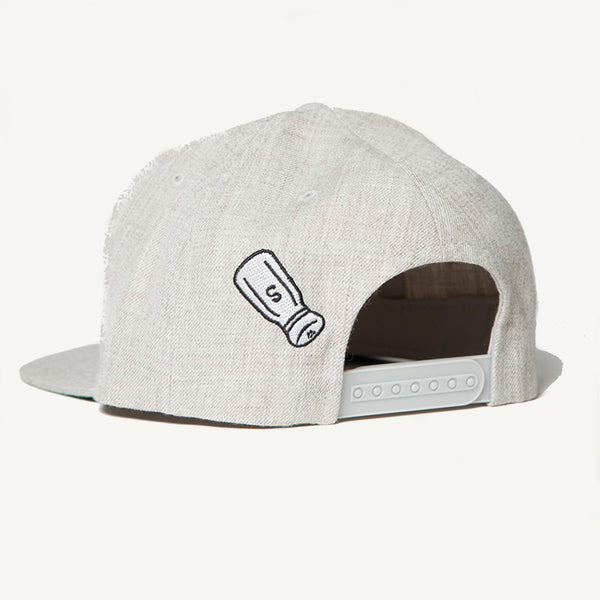 SALTY Snapback In Heather Gray - Salty Dames