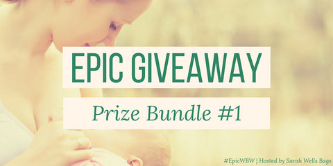 Sarah Wells Epic Breastfeeding Giveaway, Green + Lovely