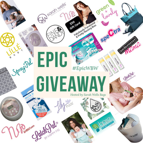 Green + Lovely Sarah Wells Facebook Party Epic Giveaway