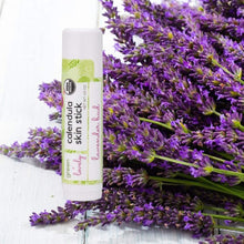 Load image into Gallery viewer, Lavender Bud Skin Stick - Organic Lotion Stick - Travel Size