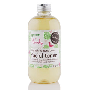 Blemish Be Gone Acne Facial Toner - All Natural Acne Fighting Toner - 8 oz - Green + Lovely