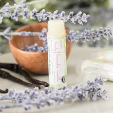 Load image into Gallery viewer, Lavender Vanilla /// Set of 3, Organic Lip Balm Butter for Intense Moisture - Beauty Gift - Green + Lovely