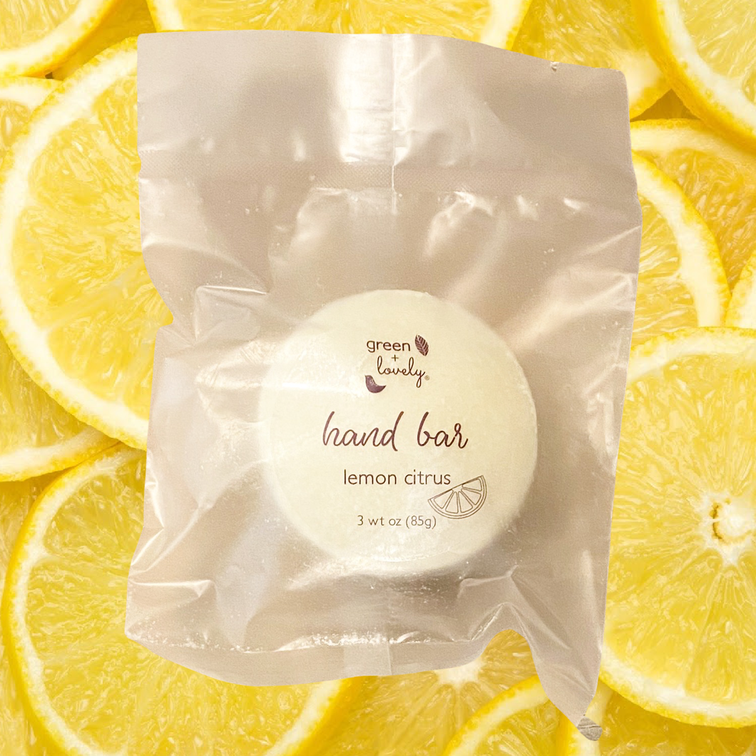 Kitchen Hand Bar /// Crisp Lemon Citrus
