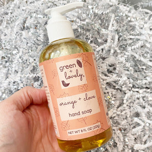 ORANGE + CLOVE Hand Soap - 8 fl oz