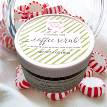 Load image into Gallery viewer, Chocolate Mint Coffee Scrub - Stocking Stuffer