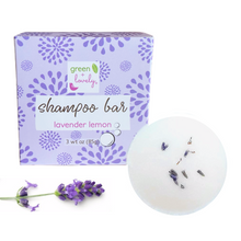 Load image into Gallery viewer, Solid Shampoo Bar /// Lavender Lemon