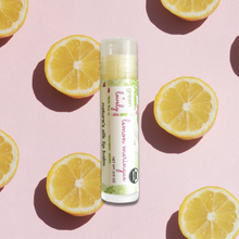Load image into Gallery viewer, Lemon Meringue /// Organic Lip Balm Butter for Intense Moisture - Beauty Gift
