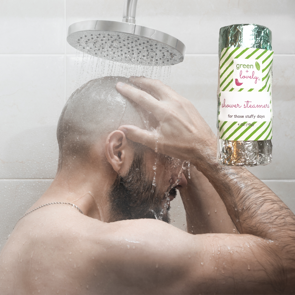 Shower Steamers /// Cold and Sinus Relief. Natural Menthol Vapors.