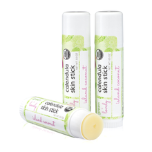 Load image into Gallery viewer, Island Coconut Skin Stick - Organic Moisture Stick - Travel Size - Green + Lovely
