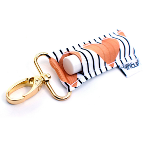 Lip Balm Keychain {Gold Hearts} + Lip Balm Sets - Green + Lovely