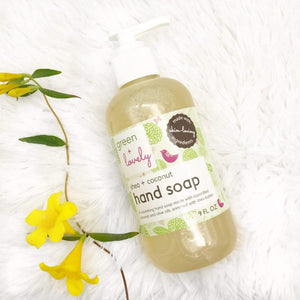 Shea + Coconut Liquid Hand Soap /// SUMMER LAVENDER