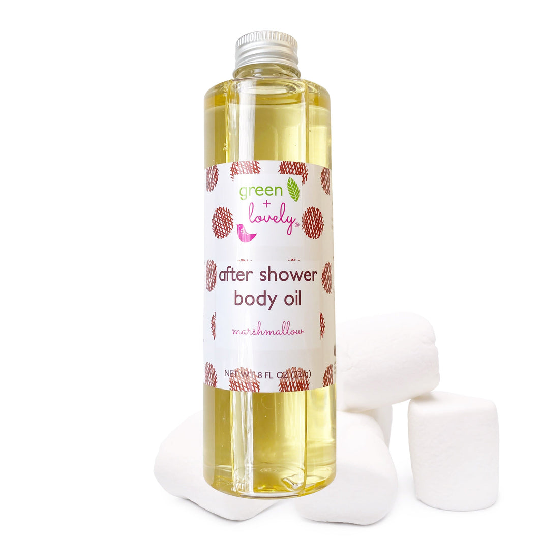 MARSHMALLOW /// After Shower Body Oil - Dry Oil Moisturizer