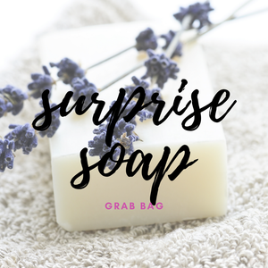 SURPRISE SOAP Grab Bag /// Handmade Artisan Soap - Green + Lovely