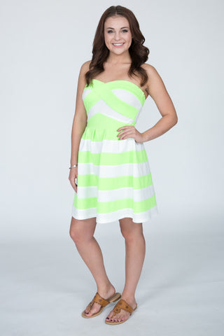 The Striped Bell Dress