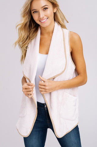 The Lissi Vest in Natural
