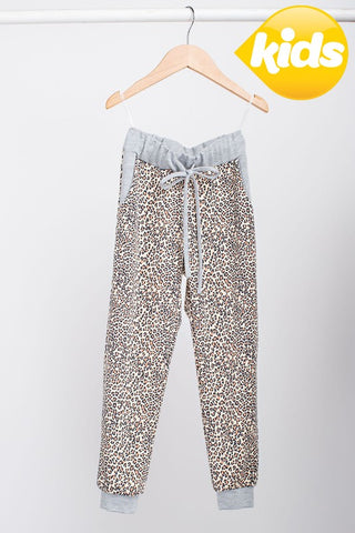 The Mini Me Leopard Joggers