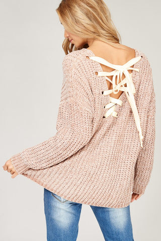 Lucky Lace Sweater