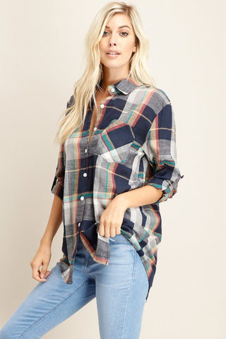 The Laine Button-Down