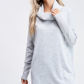 The Cowl Neck Sweater in 3 Colors