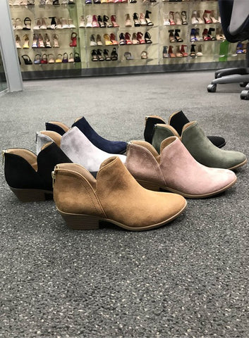 The Bradley Booties in 2 Colors