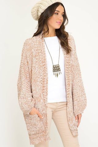 The Camel Sleeve Cardigan