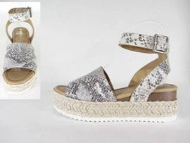 The Snake Espadrilles