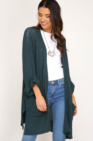 The Open Knit Cardy in 2 Colors