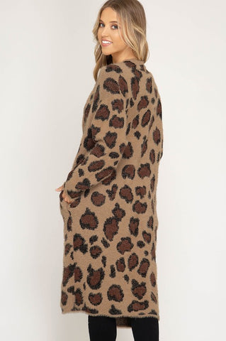 The Best Leopard Cardigan Ever Made
