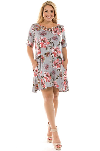 The Lylah Curvy Dress