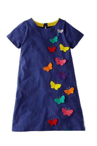 The Mini Butterfly Dress