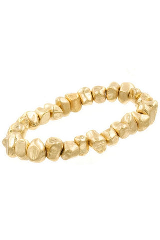 The Worn Gold Stackable Bracelet