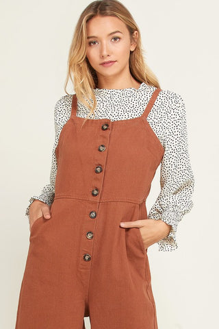 The Dot Smock Blouse