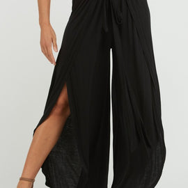 The Curvy Rory Pants in Black
