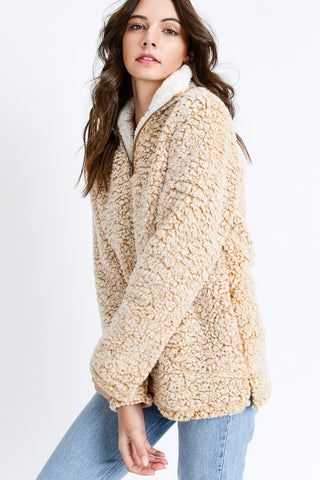 Sherpa Pullover in 2 colors