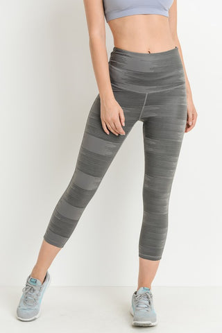 Graphite Capri Leggings