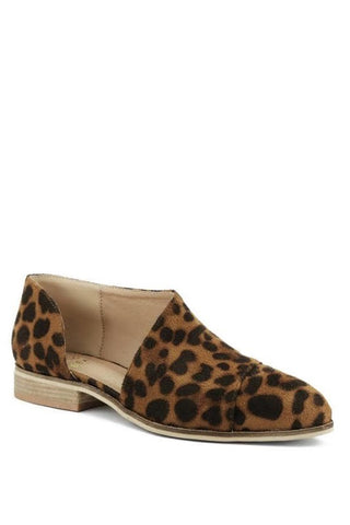 The Leopard Jenna Bootie