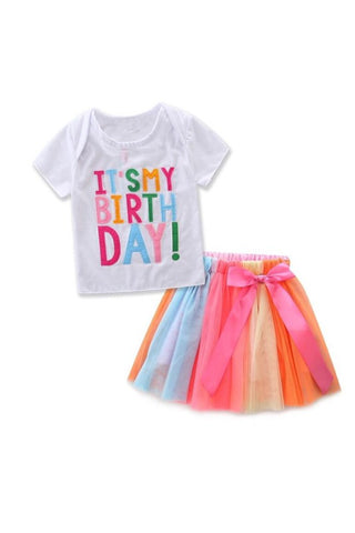 The Mini Girls Birthday Set