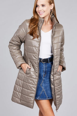 The Puffer Jacket in 4 Colors-ALL Sizes!