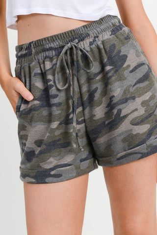 The Cozy Camo Shorts