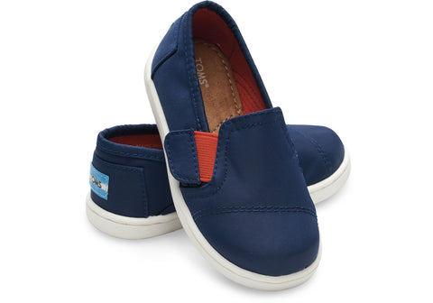 Avalon Blue Nylon SlipOn