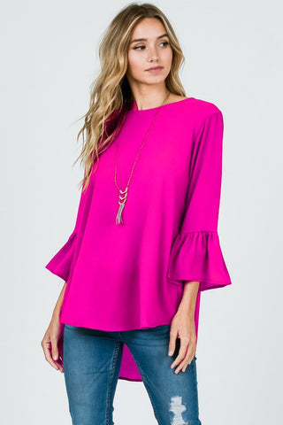 The Magenta Manicure Blouse