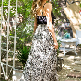 The Lina Lou Leopard Maxi