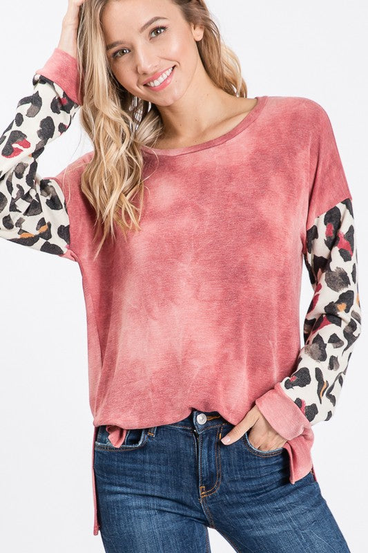The Vintage Combo Top in 2 Colors