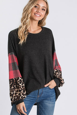 The Bubble Sleeve Top