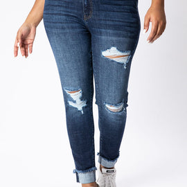 The CURVY High Rise Skinny